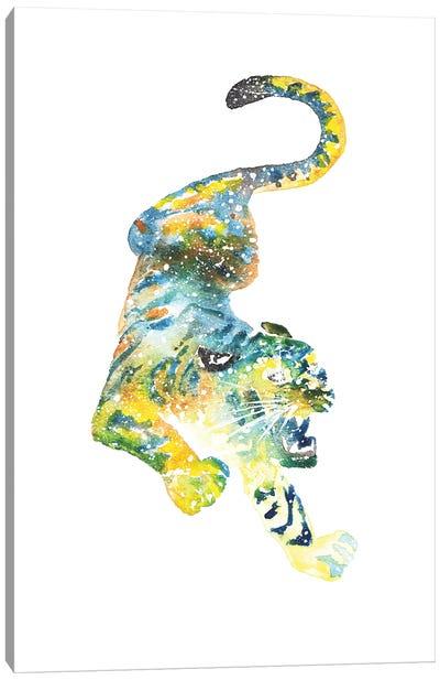 Cosmic Tiger Canvas Art Print