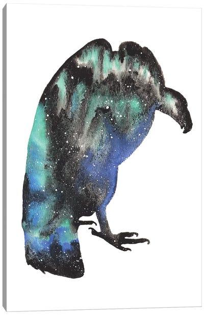 Cosmic Vulture Canvas Art Print