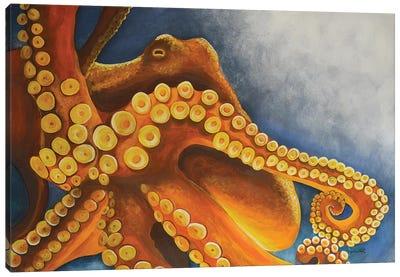 Octopus Canvas Art Print