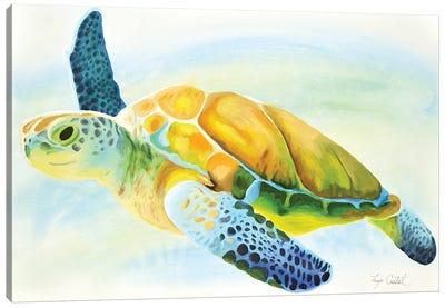 Sea Turtle Canvas Art Print