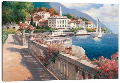 Lago di Como I Canvas Art Print