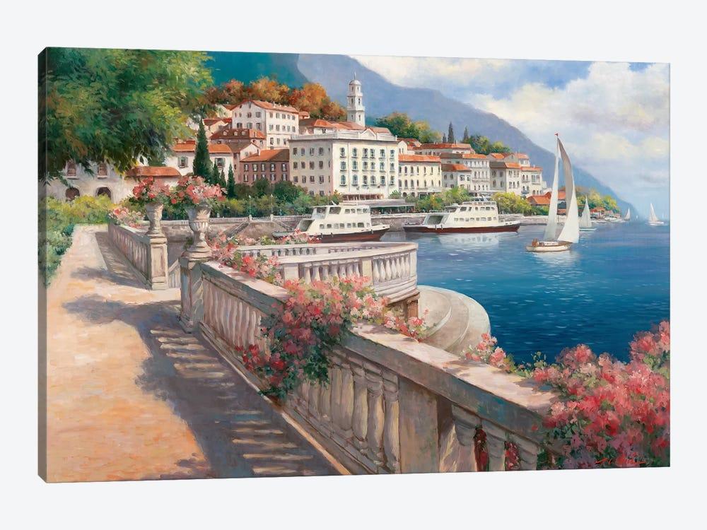 Lago di Como I by T.C. Chiu 1-piece Canvas Wall Art