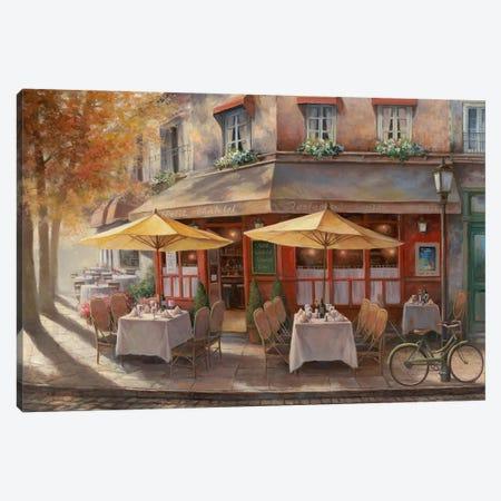 Le Petit Chatlet 3-Piece Canvas #TCC12} by T.C. Chiu Canvas Art Print