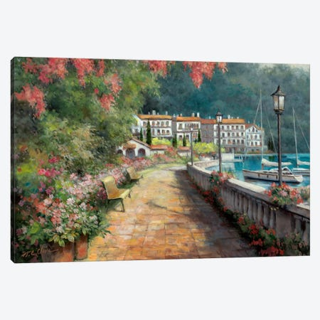 Morning Stroll Canvas Print #TCC13} by T.C. Chiu Canvas Print
