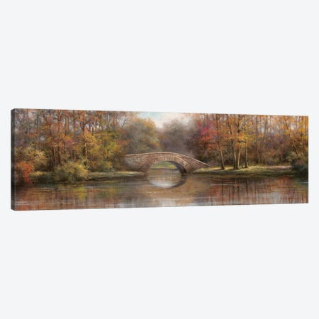 Along the River I 3-Piece Canvas #TCC1} by T.C. Chiu Art Print