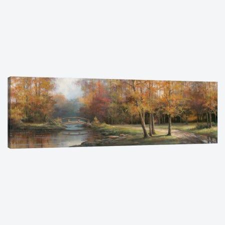 Along the River II 3-Piece Canvas #TCC2} by T.C. Chiu Canvas Print