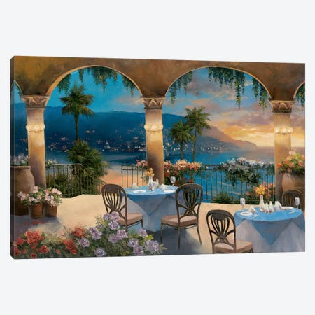 Amalfi Holiday I Canvas Print #TCC3} by T.C. Chiu Canvas Print