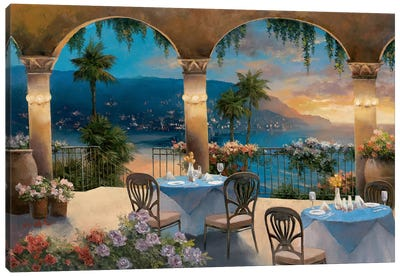 Amalfi Holiday I Canvas Art Print