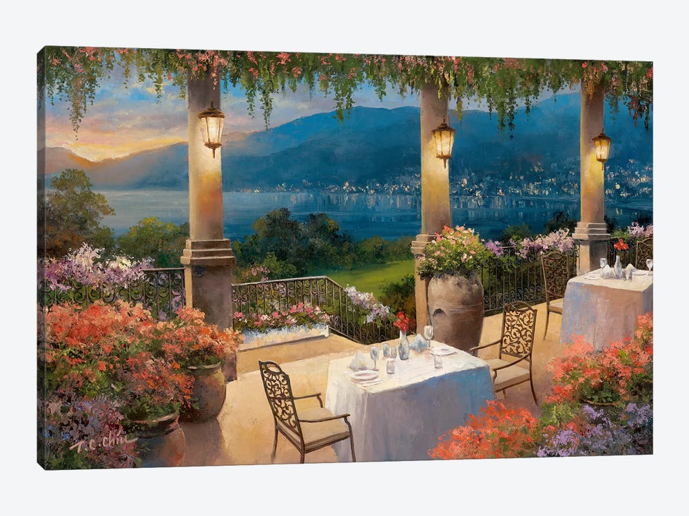 Amalfi Holiday II by T.C. Chiu 1-piece Canvas Wall Art