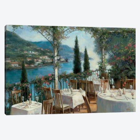 Amalfi Terrace Canvas Print #TCC5} by T.C. Chiu Canvas Art