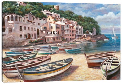 Bella Mattina I Canvas Art Print