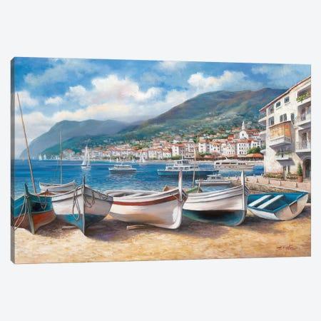 Bella Mattina II 3-Piece Canvas #TCC7} by T.C. Chiu Canvas Art