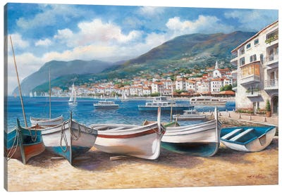 Bella Mattina II Canvas Art Print
