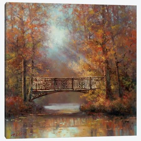 Bridge of Peace II Canvas Print #TCC9} by T.C. Chiu Art Print