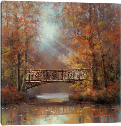 Bridge of Peace II Canvas Art Print