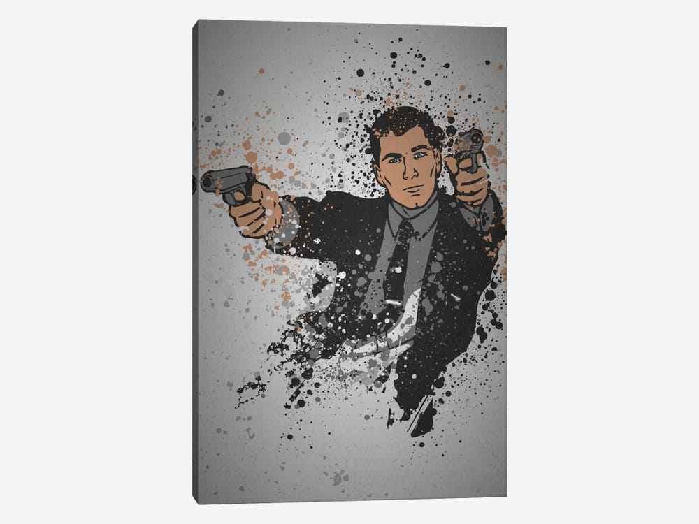 Danger Zone by TM Creative Design 1-piece Canvas Art