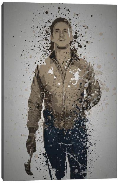 Pop Culture Splatter Series: Driver Canvas Print #TCD16