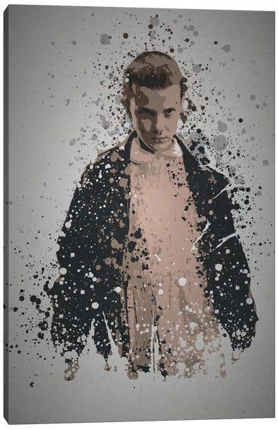 Pop Culture Splatter Series: Eleven Canvas Print #TCD17