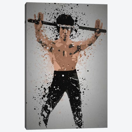 Enter The Dragon Canvas Print #TCD19} by TM Creative Design Canvas Wall Art