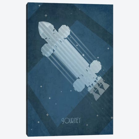 Eagle Transporter Canvas Print #TCD1} by TM Creative Design Canvas Art