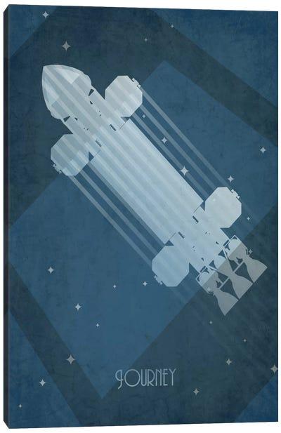 Art Deco Ships Series: Eagle Transporter Canvas Print #TCD1