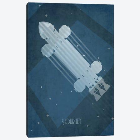 Eagle Transporter Canvas Print #TCD1} by TM Creative Design Canvas Art