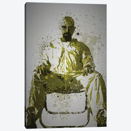 Heisenberg Canvas Print #TCD22} by TM Creative Design Canvas Print