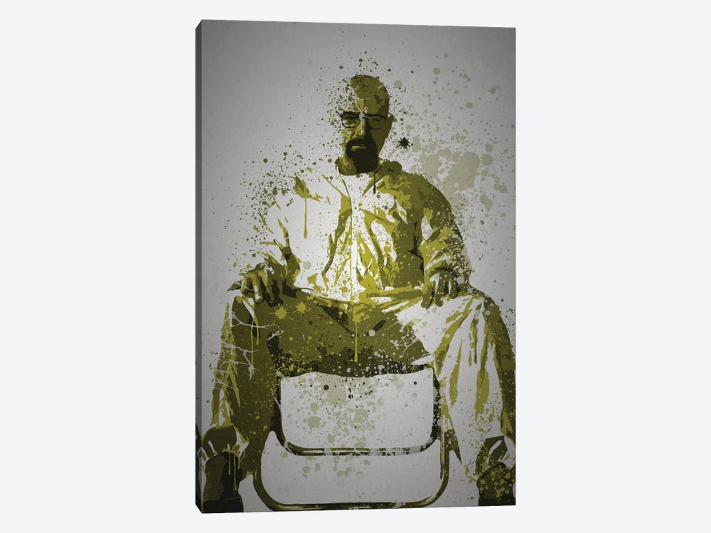 Heisenberg by TM Creative Design 1-piece Canvas Art Print