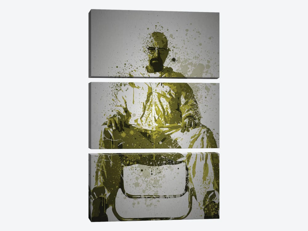 Heisenberg by TM Creative Design 3-piece Art Print