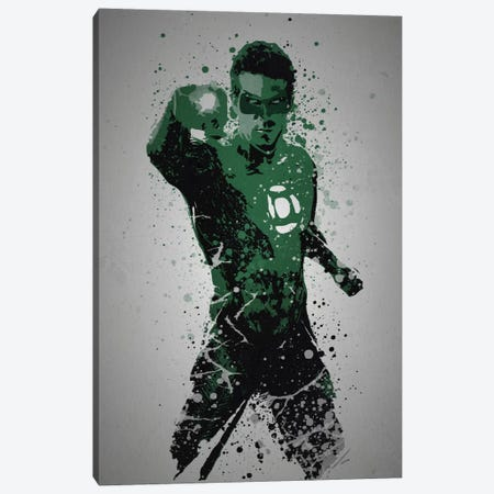 In Brightest Day, In Blackest Night Canvas Print #TCD26} by TM Creative Design Canvas Artwork