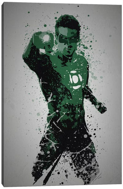 In Brightest Day, In Blackest Night Canvas Art Print