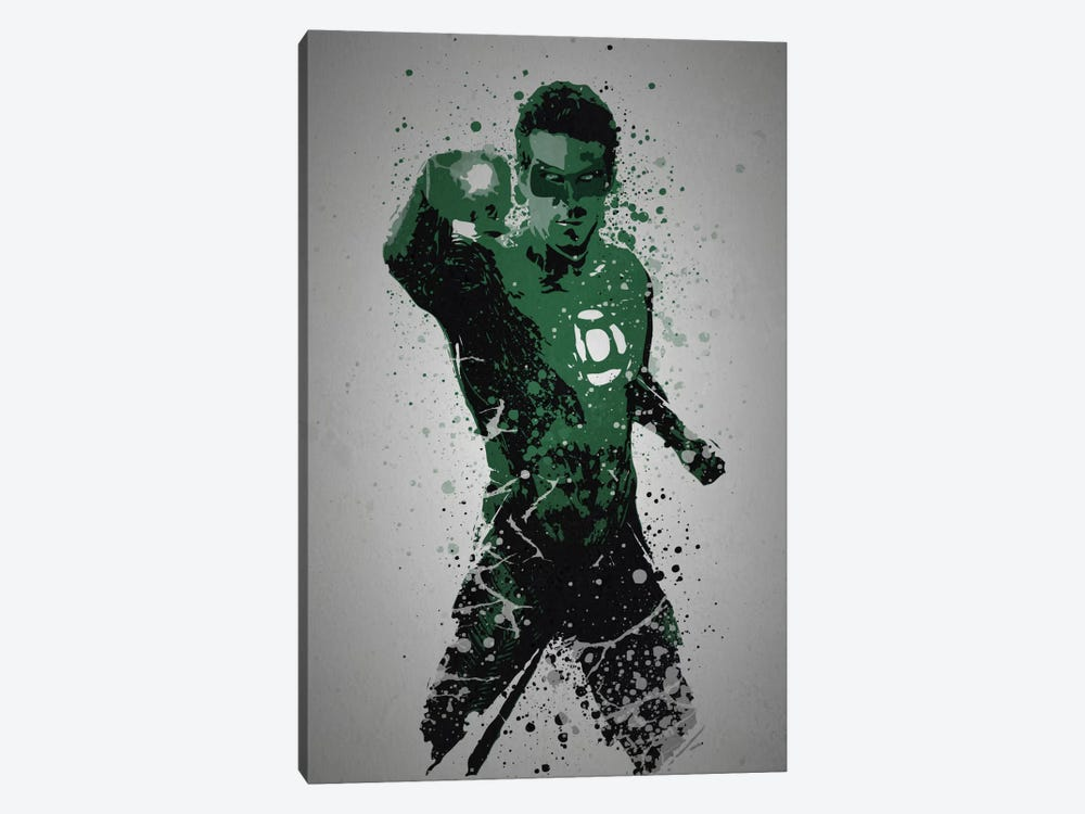 In Brightest Day, In Blackest Night by TM Creative Design 1-piece Art Print