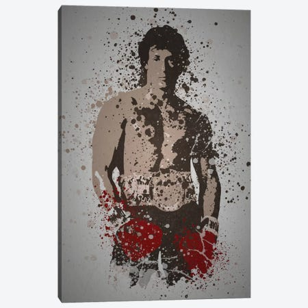 Italian Stallion Canvas Print #TCD27} by TM Creative Design Canvas Wall Art