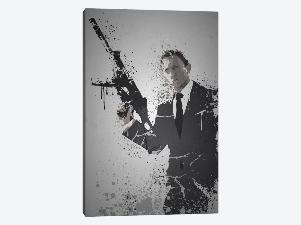 Licence To Kill by TM Creative Design 1-piece Canvas Art Print