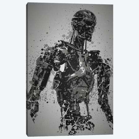 Machine Canvas Print #TCD30} by TM Creative Design Canvas Art