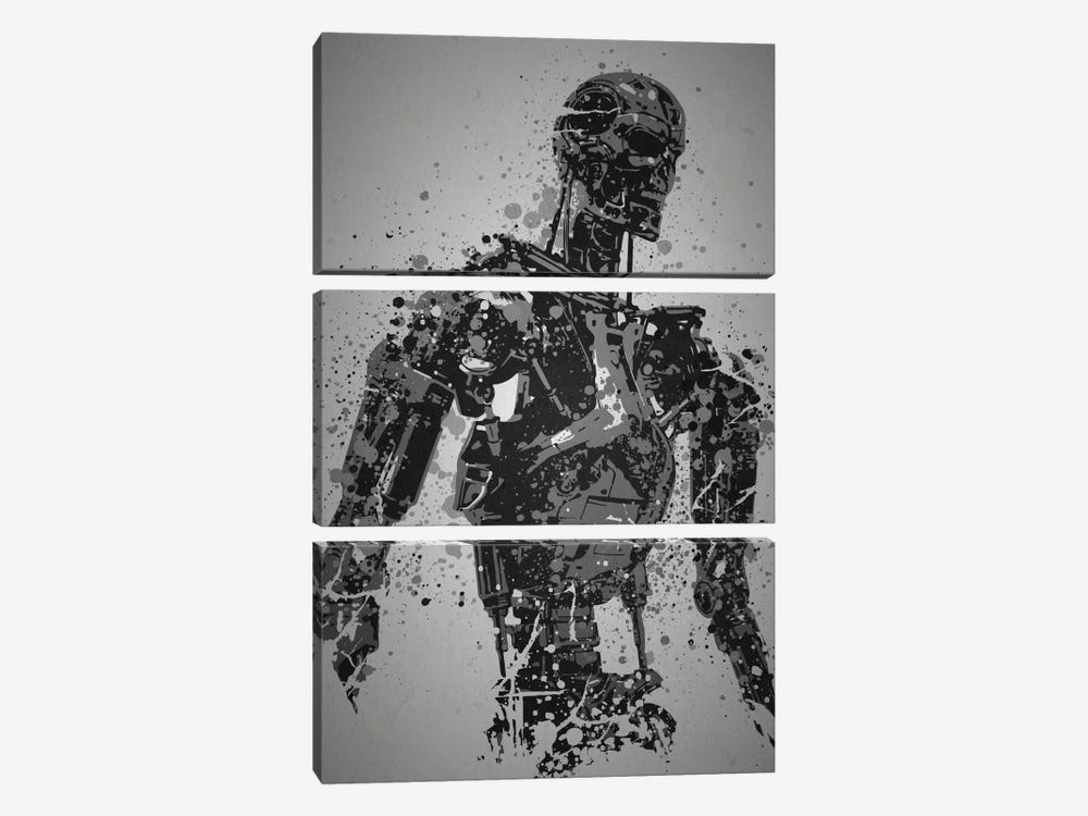 Machine by TM Creative Design 3-piece Canvas Art