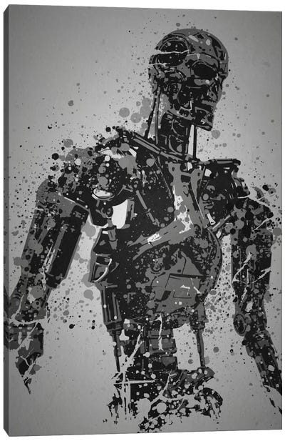 Machine Canvas Art Print
