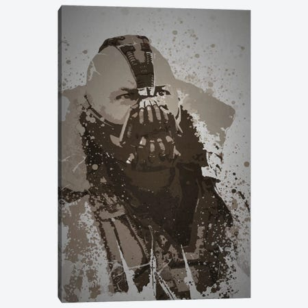 Mercenary Canvas Print #TCD32} by TM Creative Design Canvas Wall Art