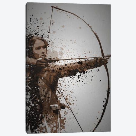 Mockingjay Canvas Print #TCD33} by TM Creative Design Canvas Wall Art