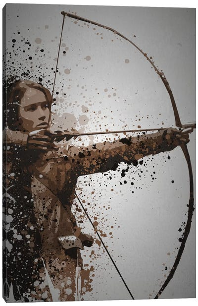 Mockingjay Canvas Art Print