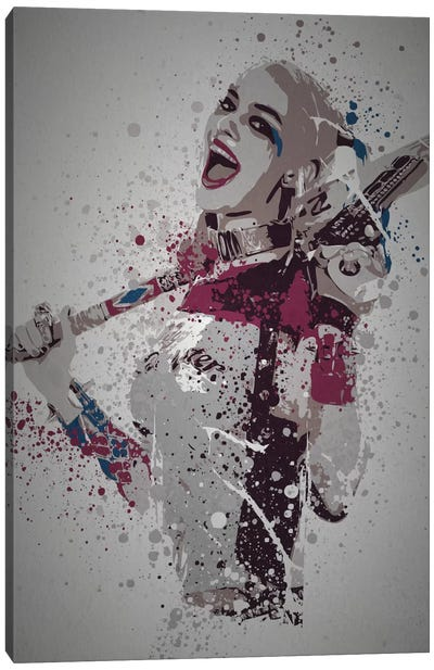 Pop Culture Splatter Series: Puddin' Canvas Print #TCD37
