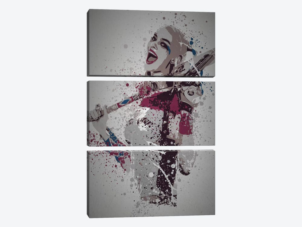 Puddin' by TM Creative Design 3-piece Canvas Art Print