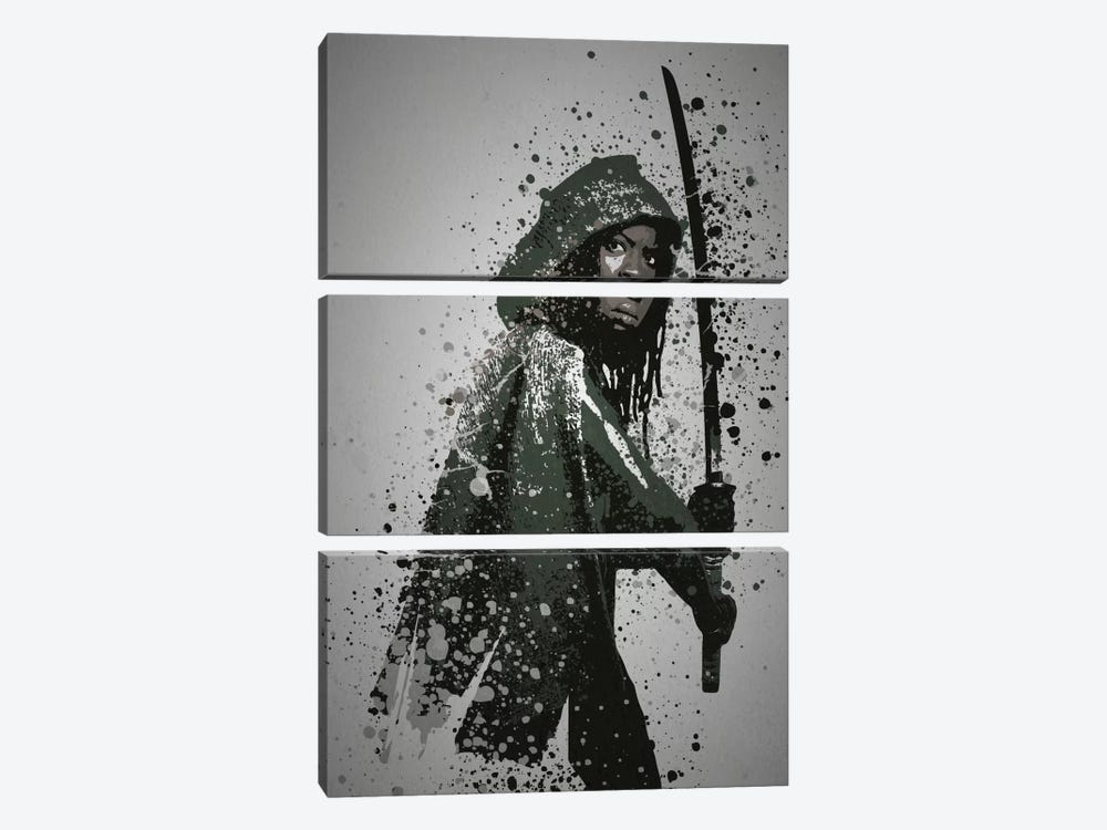 Samurai by TM Creative Design 3-piece Canvas Art Print