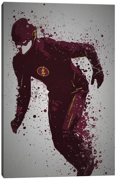 Scarlet Speedster Canvas Art Print