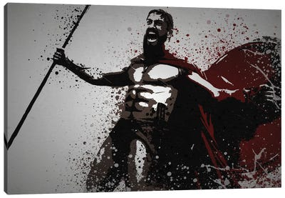 This Is Sparta! Canvas Art Print