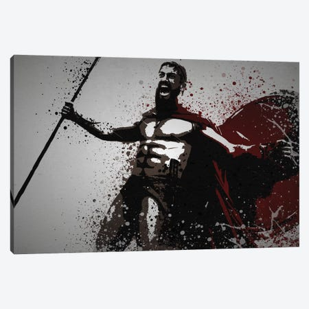 This Is Sparta! Canvas Print #TCD46} by TM Creative Design Canvas Artwork