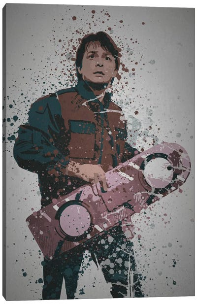 Time Traveller Canvas Art Print