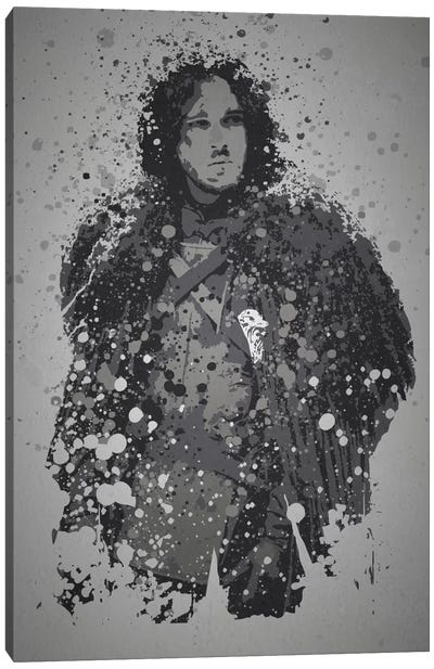 Winter Is Coming Canvas Art Print