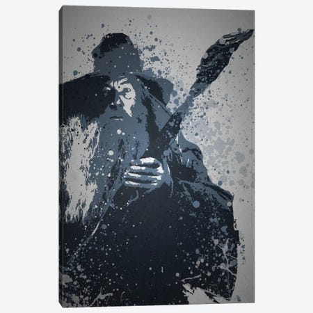 Wizard Canvas Print #TCD49} by TM Creative Design Canvas Print