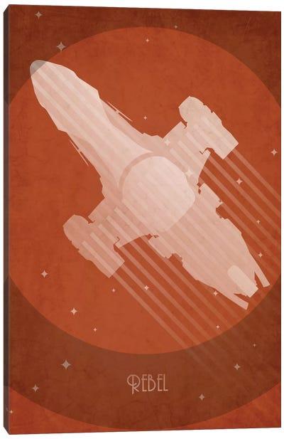Art Deco Ships Series: Serenity Canvas Print #TCD4